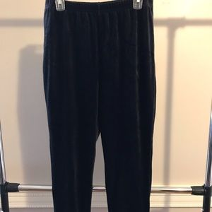 NWOT Harley Davidson Woman's Black XL Velour Pants